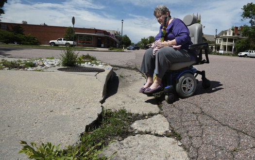 Colorado Springs Pledges 15,000 curb cuts for wheelchairs in next 15 years: So What's the Problem?