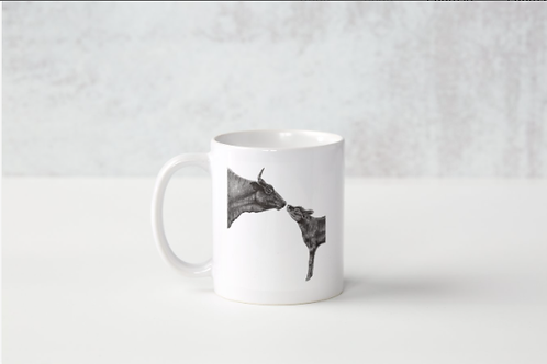 Mother and Calf Mug