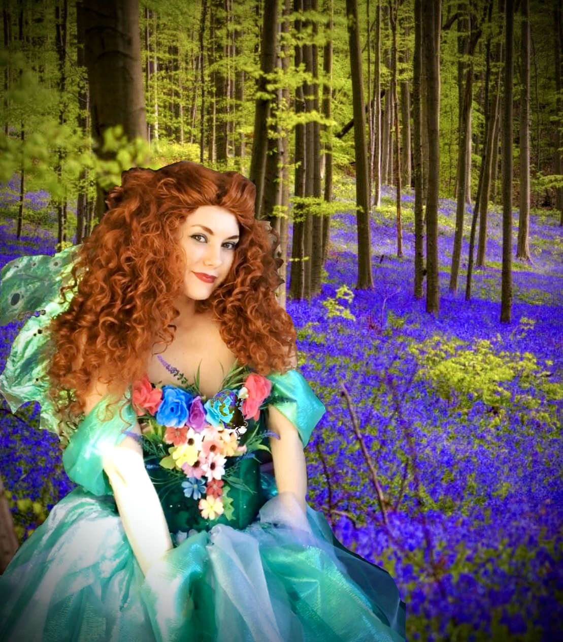 Scarlett the woodland fairy