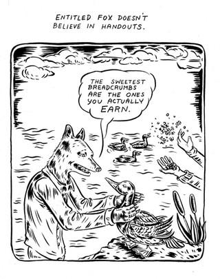 Entitled Fox//Handouts