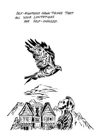 Self-Righteous Hawk//Limitations