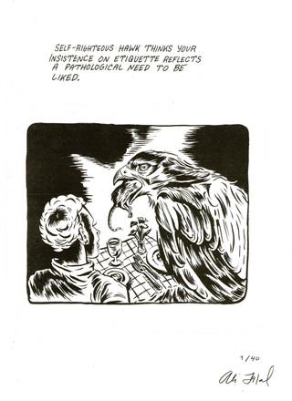 Self Righteous Hawk//Etiquette