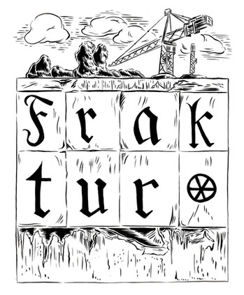 """""""Fraktur"""" chapter from """"Drawn to Berlin"""""""