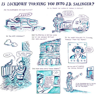 Is Lockdown Turning You Into J.D. Salinger?