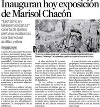 nota Periódico El Imparcial