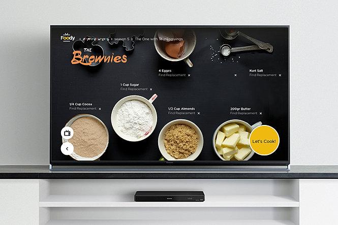Dana Dushkin Design | Foody TV App