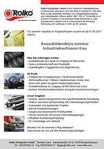 Auszubildende(r) zum/zur  Industrie-kaufmann/-frau (w/m/d)