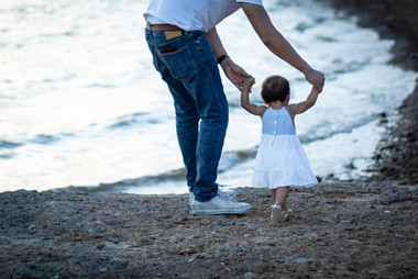 With Daddy by my side I can conquer the world