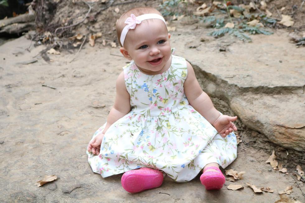 precious in a dress