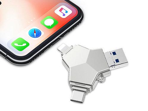 iDragon 4 In 1 USB 3.0 OTG Flash Drive 32gb/64gb