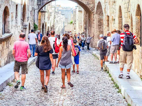 Greece Welcomes More than 2.3 Million Visitors So Far