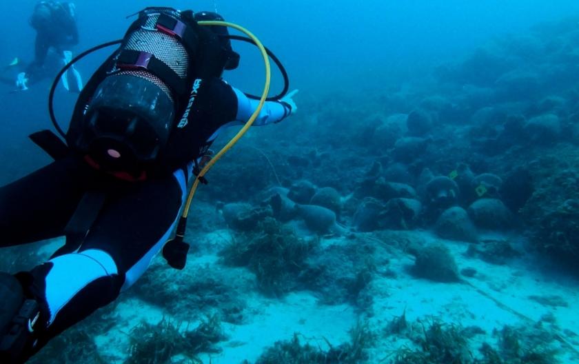 Greece's first underwater museum opens