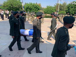 Remains of missing Greek officer handed over for burial