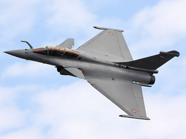 Greece receives first Rafale fighter jet at ceremony in France