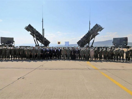Greek Military officers depart for Saudia Arabia with Patriot missile system