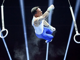 Eleftherios Petrounias is through to the final in the Tokyo Games
