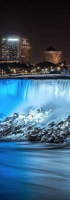 Niagara Falls, Ontario Landmarks to Be Illuminated Blue and White