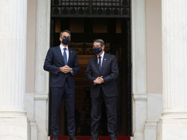 Mitsotakis and Anastasiades discuss Turkish resettlement plans for Varosha