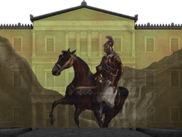 1821 Greek Revolution 'comes to life' in digital projections over key buildings across the country