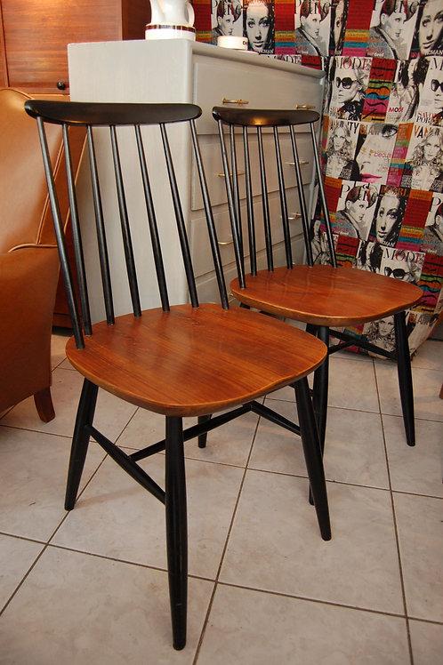 VENDU/2 chaises I.Tapiovaara teck massif vintage