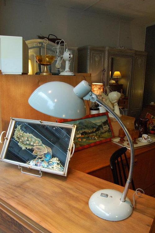 VENDU/Lampe années 50s de bureau gris articulée