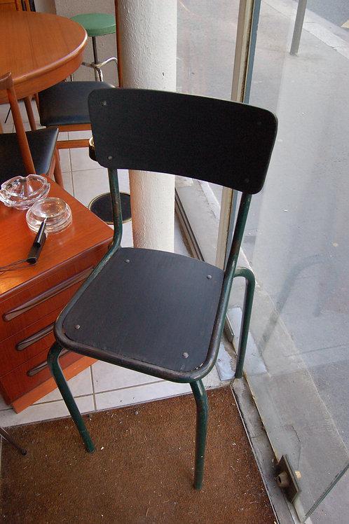 VENDU/Chaise d'atelier vintage années 60 bois métal