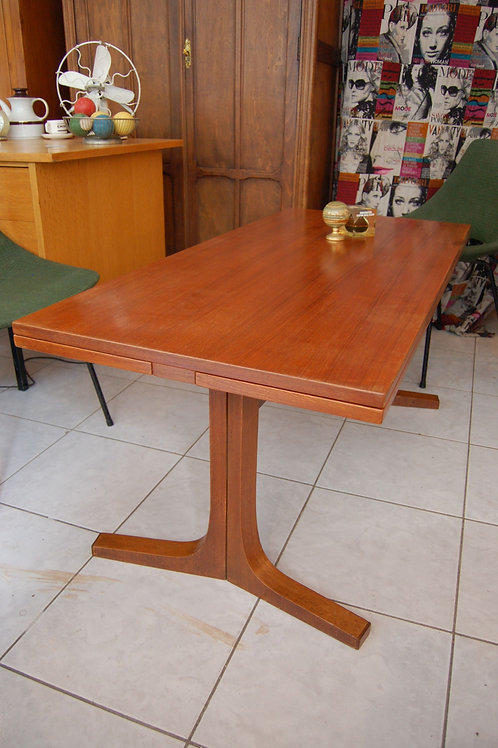 VENDU/Table basse scandinave table haute 60s