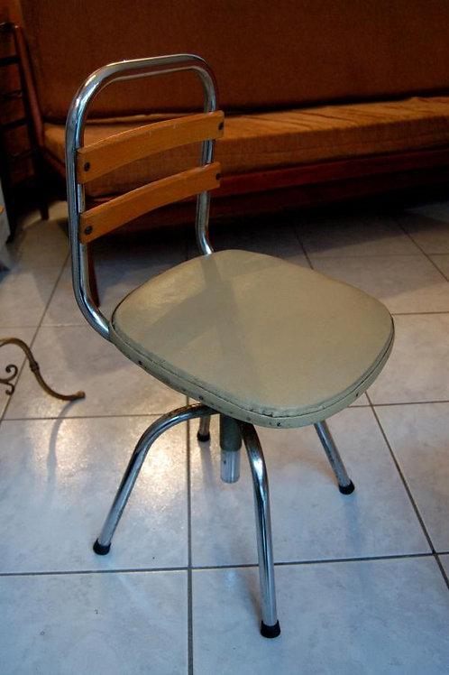 VENDU/Chaise d'enfant pivotante années 50 chrome