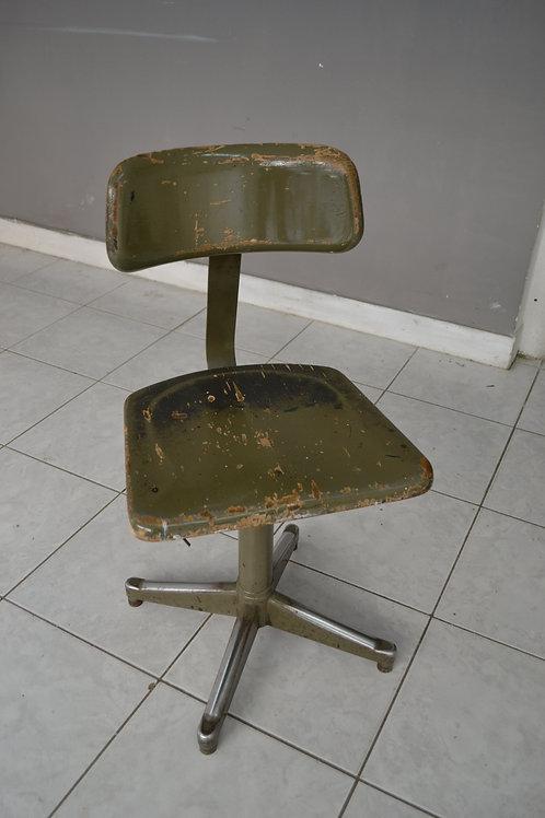VENDU/Chaise de bureau années 60 bois métal