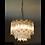 Thumbnail: VENDU/Lustre à pampilles cristal Murano de Paolo Venini 70s