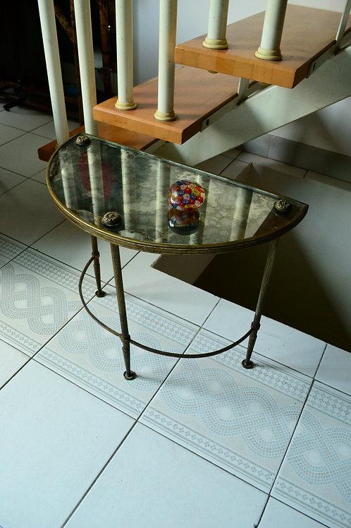 Table demi lune années 30 40 Jansen ou Baguès