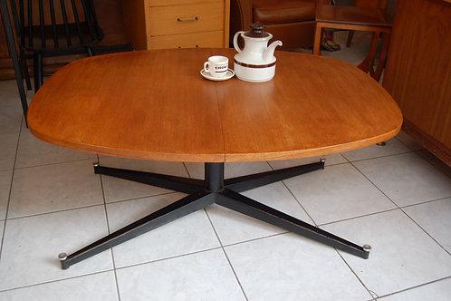 VENDU/Table basse scandinave transformable vintage
