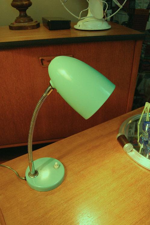 VENDU/Lampe de bureau verte à rotule années 50 60