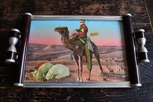 Plateau Art Déco souvenir d'Algérie