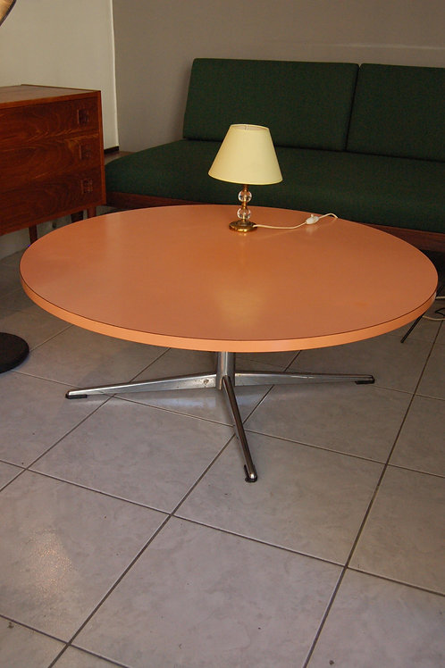 VENDU/Table basse vintage formica orange style Eames