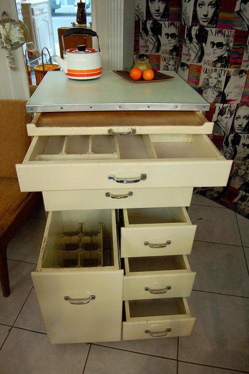 VENDU/Buffet de cuisine formica & bois 50s