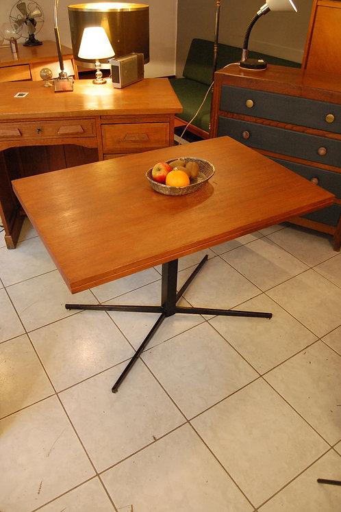 VENDU/Table scandinave relevable teck années 60 extensible