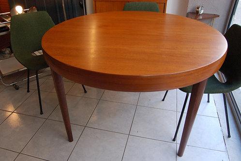 VENDU/PROMO Table scandinave vintage teck années 60 2 allonges