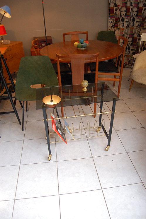 VENDU/Table d'appoint vintage hifi années 60 70