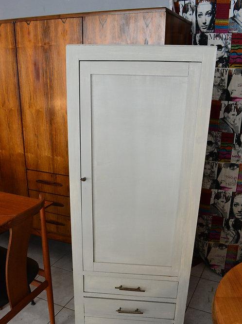 VENDU/Petite armoire vintage grise avec 3 tiroirs années 50