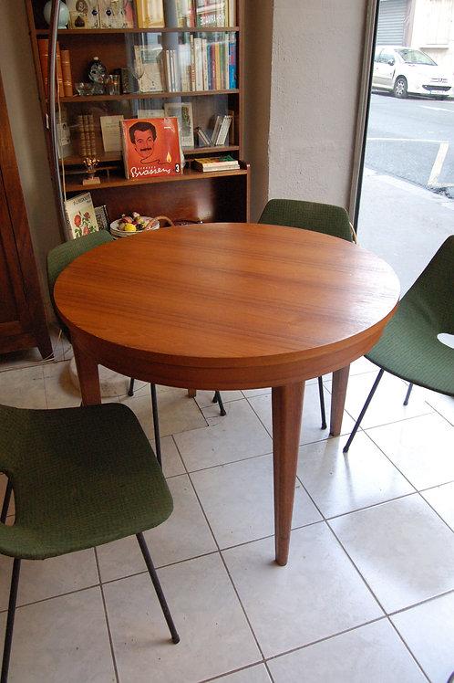 VENDU/Table teck années 60 style scandinave vintage