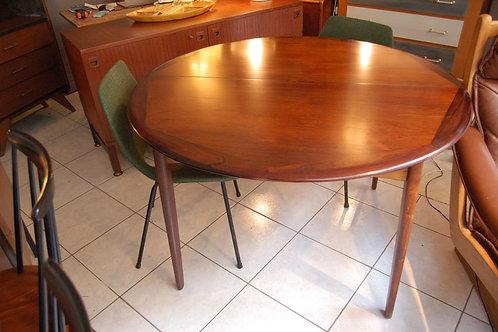VENDU/Table scandinave 60s Palissandre de Rio Danemark