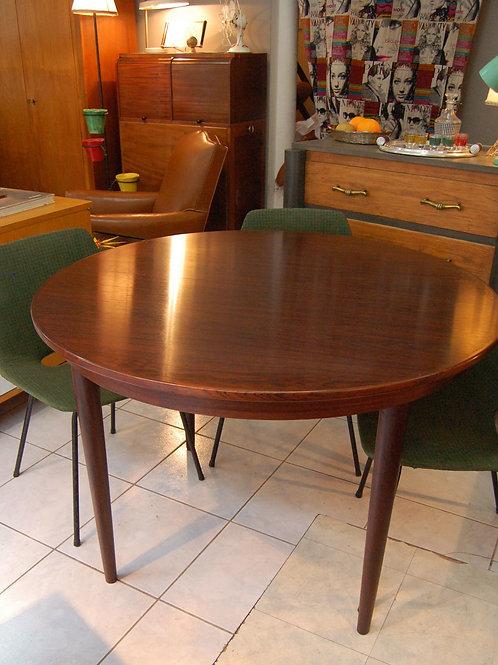 VENDU/Table danoise Skovmand & Andersen 60s palissandre