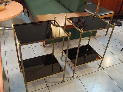 VENDU/Paire de bouts de canapé tables Maison Baguès Jansen 60 70
