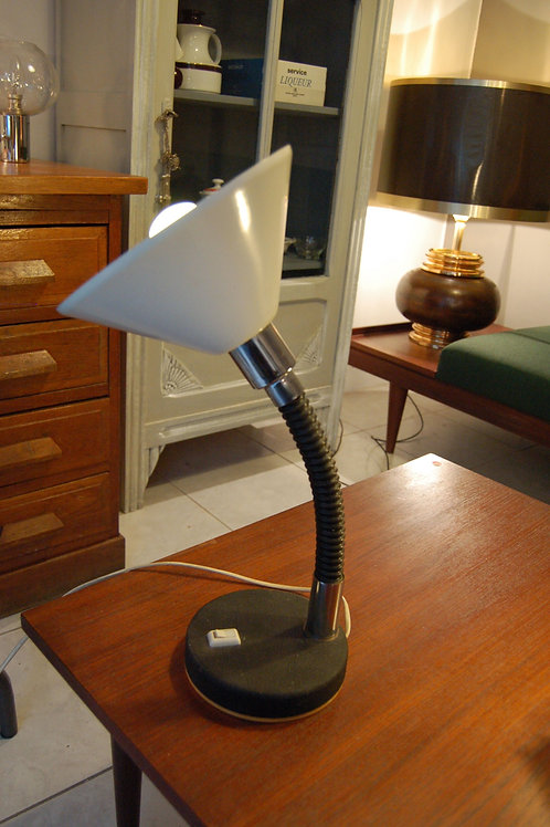 Lampe de table années 60 70 bras flexible