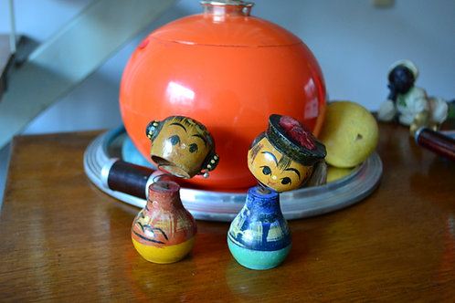 VENDU/Paire de poupées japonaises années 60