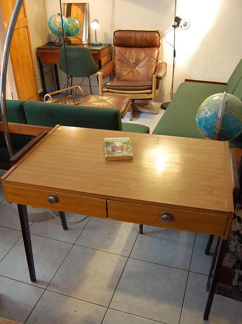 VENDU/Bureau vintage années 60 formica pieds compas
