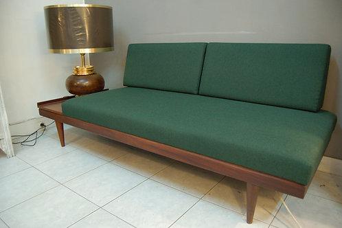 VENDU/Daybed scandinave canapé vintage 60 I. Relling refait à neuf