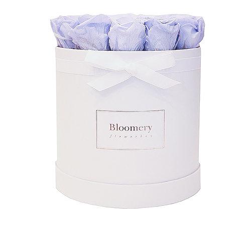 LAVENDEL BLUE Infinity Rosen in LARGE Flowerbox