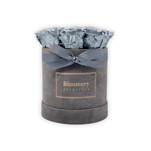 Glamour Flowerbox SILBER Medium